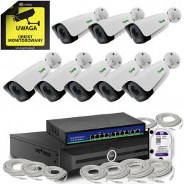 Zestaw 5Mpx 8 x TC-C35LS + Rejestrator TC-R3120