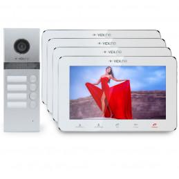 Wideodomofon 4-rodzinny VidiLine V-D4