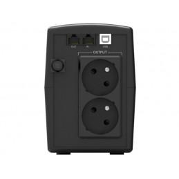 UPS POWERWALKER LINE-INTERACTIVE 600VA STL FR 2X PL 230V, RJ11/45 IN/OUT, USB