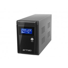 UPS ARMAC OFFICE LINE-INTERACTIVE 1000E LCD 3X 230V PL METALOWA OBUDOWA