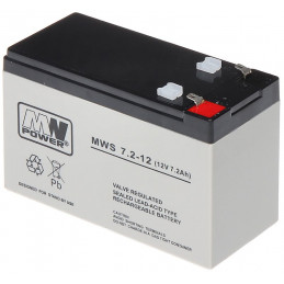 AKUMULATOR 12V/7.2AH-MWS