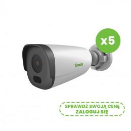 Zestaw 5 kamer sieciowych IP Tiandy TC-NCL23MN 2Mpix Motozoom