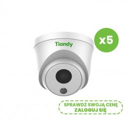 Zestaw 5 kamer sieciowych IP Tiandy TC-C32HP-M 2Mpix Super Starlight