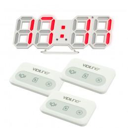 Zestaw do restauracji Tablica VIDI-PRZ-18 z 3 przyciskami wielofunkcyjnymi