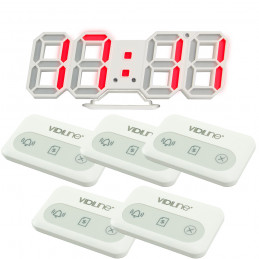 Zestaw do restauracji Tablica VIDI-PRZ-18 z 5 przyciskami wielofunkcyjnymi