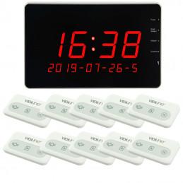 Zestaw do restauracji tablica sygnalizacyjna z 10 przyciskami wielofunkcyjnymi