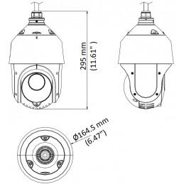 Kamera obrotowa HIKVISION DS-2AE4225TI-D - 2Mpix