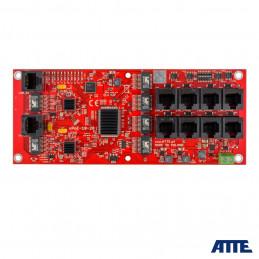 Switch PoE 10 portowy (8xPoE 10/100Mbps + 2xGigabi