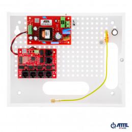 Zestaw do 5 kamer IP, w obudowie wewnętrznej ABOX