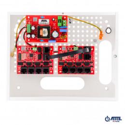 Zasilacz 96W, switch PoE 10 portowy 10/100Mbps