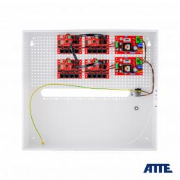 zasilacz 192W (2x 96W), switch PoE 18 portowy