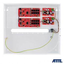 Zasilacz 192W (2x96W), switch PoE 18 portowy