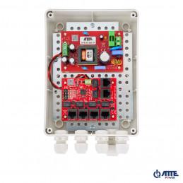 Zasilacz 96W, switch PoE 6 portowy 10/100Mbps