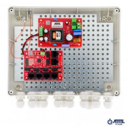 Zasilacz 96W, switch PoE 6 portowy 10/100Mbps IP-5-11-L3