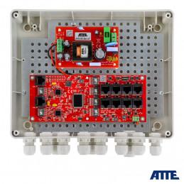 Zasilacz 96W, switch PoE 10 portowy IP-8-20-L2