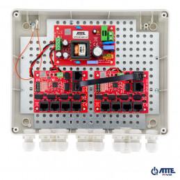 Zasilacz 96W Switch PoE 10 portowy 10/100Mbps