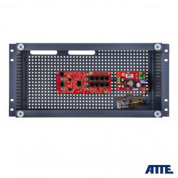Zestaw do 8 kamer IP, w obudowie ABOX-R5U0, zasilacz 96W, switch PoE 10 portowy (8xPoE 10/100Mbps + 2xGigabit Uplink), bezpieczn