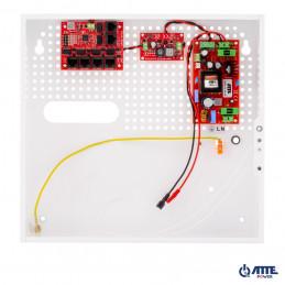Zasilacz 72W, switch PoE 10 portowy