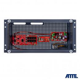 Zestaw buforowy do 8 kamer IP, w obudowie RACK ABOX-R5U0 (1x AKU 18Ah), zasilacz 72W, switch PoE 10 portowy (8xPoE 10/100Mbps +
