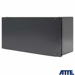 Zestaw buforowy do 16 kamer IP, w obudowie RACK ABOX-R5U0 (2x AKU 18Ah), zasilacz 144W (2x 72W), switch PoE 18 portowy (16xPoE 1