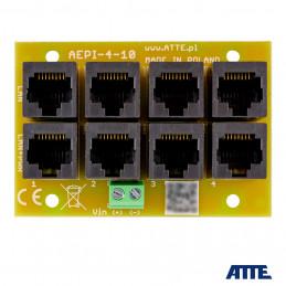 Adapter PoE PASSIVE 4 kanałowy ATTE AEPI-4-10-OF