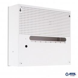Zasilacz buforowy SMPS, Vin 230VAC, Vout 24VDC, Iout 3A, Pout 72W, w obudowie wewnętrznej ABOX-F (2x AKU 7Ah), typu AUPS-70-240