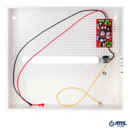 Zasilacz buforowy SMPS, Vin 230VAC, Vout 24VDC, Iout 3A, Pout 72W, w obudowie wewnętrznej ABOX-H (2x AKU 18Ah), typu AUPS-70-24