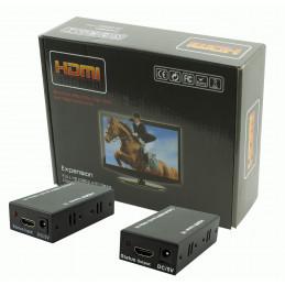 EXTENDER HDMI PO SKRĘTCE KOMPUTEROWEJ