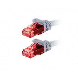Patchcord VidiLine kabel sieciowy LAN RJ-45 kategorii UTP kat. 5E 0,5 metra
