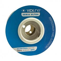 Kabel głośnikowy VIDILINE 2 x 2,5mm miedź OFC 100m Ultra