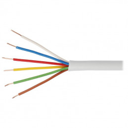 Kabel alarmowy Vidiline 6x0,5mm CU 100m