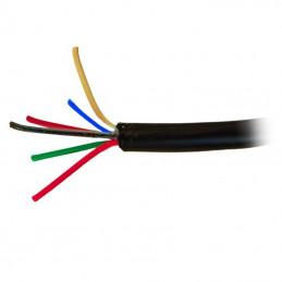 Kabel alarmowy Vidiline 6x0,5mm CU 100m ŻEL  ziemny