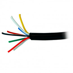 Kabel alarmowy Vidiline 8x0,5mm CU 100m ŻEL ziemny