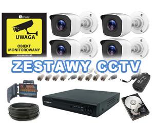 ZESTAWY CCTV
